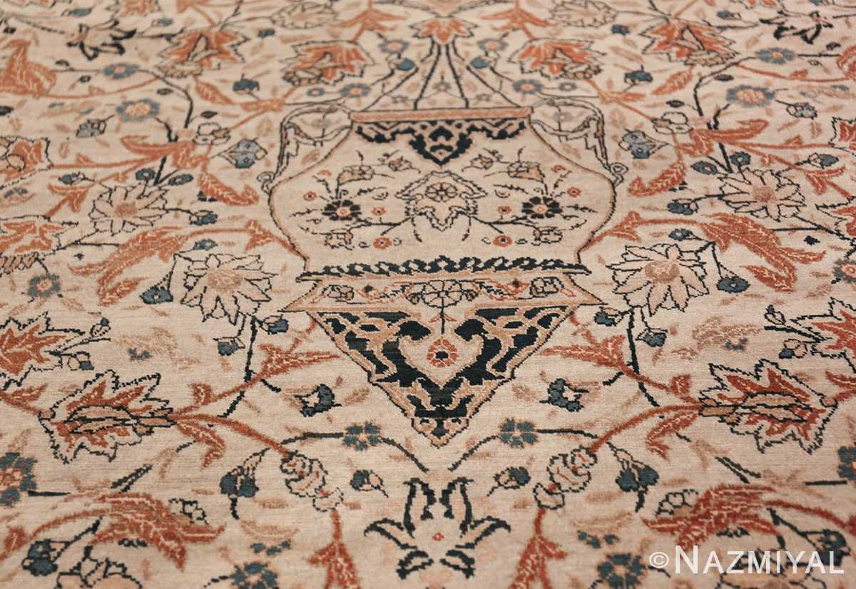 Large Persian Ardabil Design Tabriz Antique Rug 50615 Pending Lantern Nazmiyal