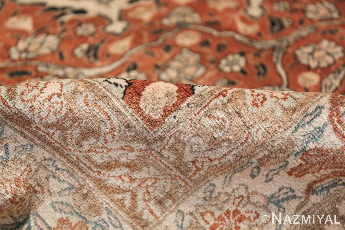 Large Persian Ardabil Design Tabriz Antique Rug 50615 Shine Pile Nazmiyal