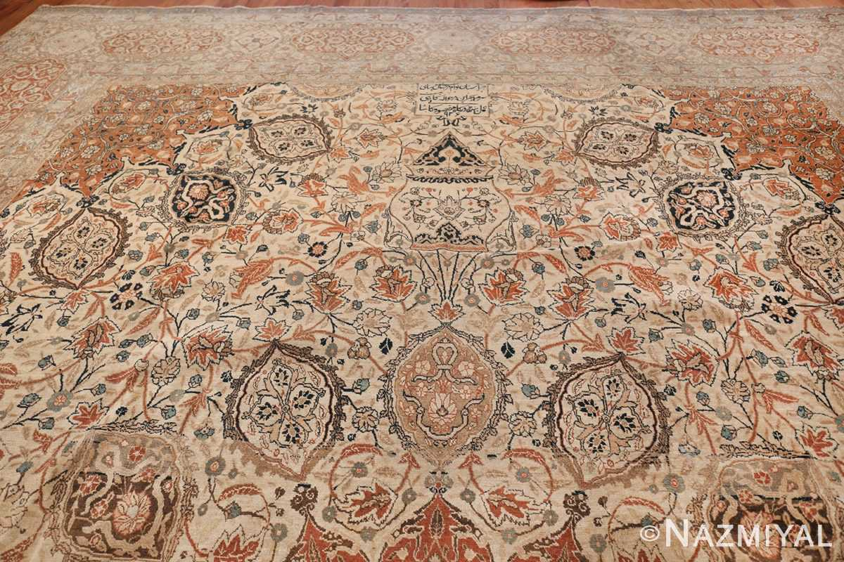 Large Persian Ardabil Design Tabriz Antique Rug 50615 Top Design Nazmiyal