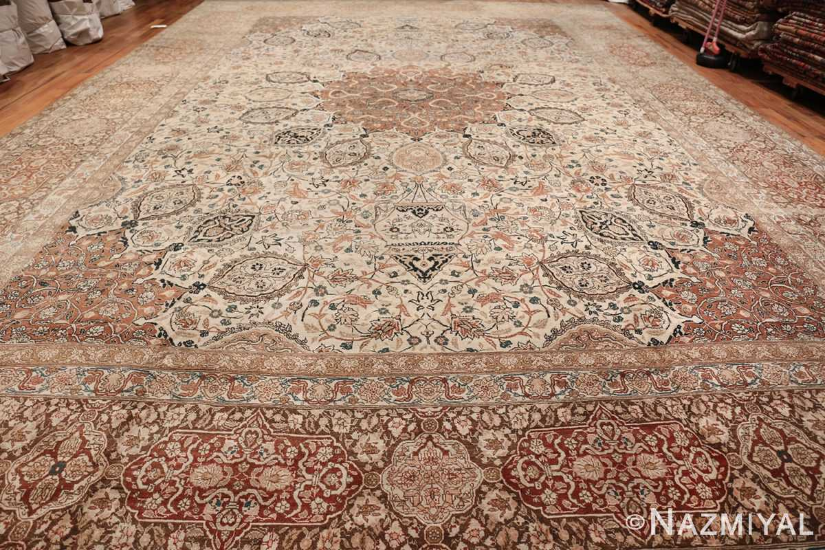 Large Persian Ardabil Design Tabriz Antique Rug 50615 Whole Design Nazmiyal