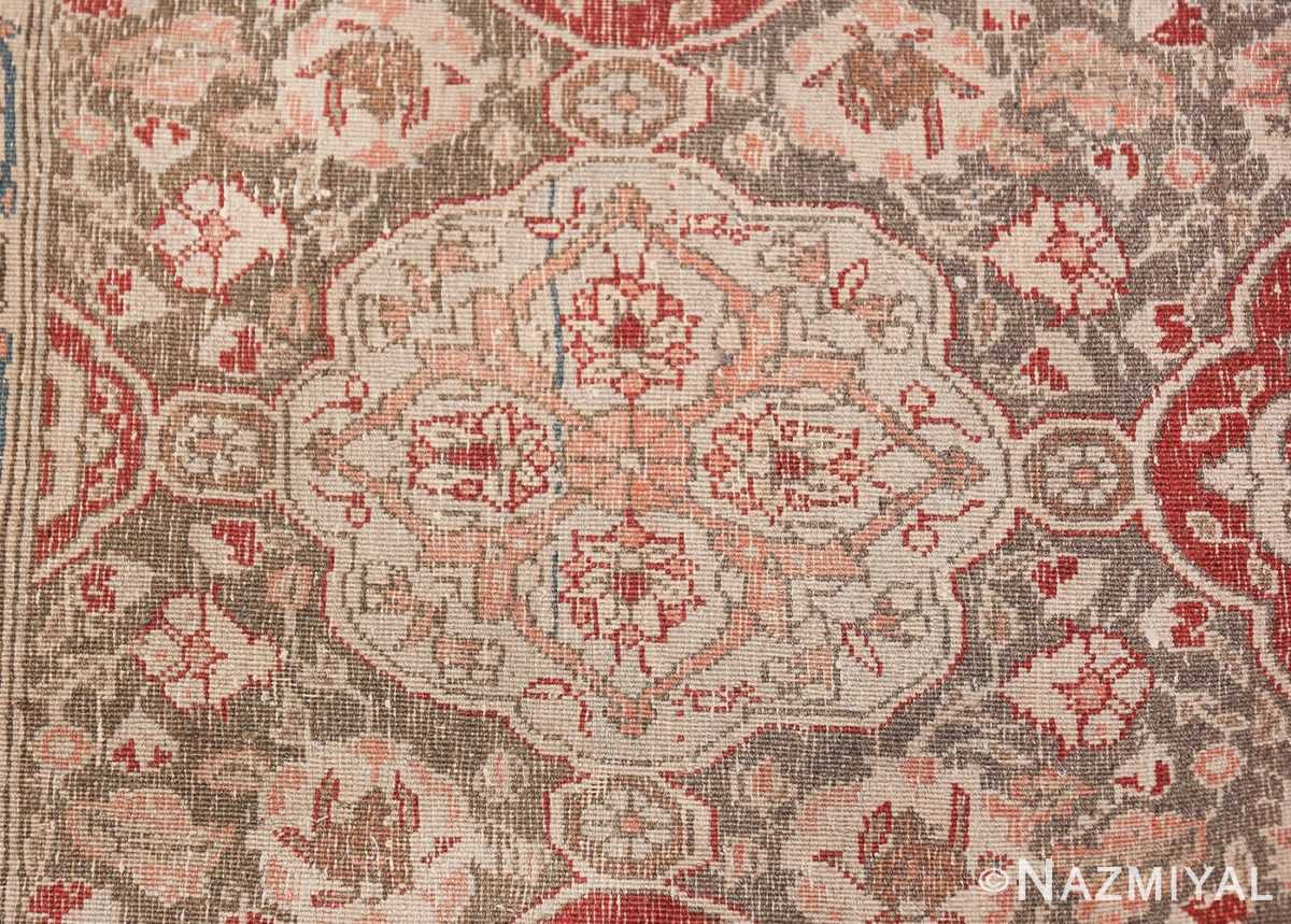 Large Persian Ardabil Design Tabriz Antique Rug 50615 Woven Knots Nazmiyal