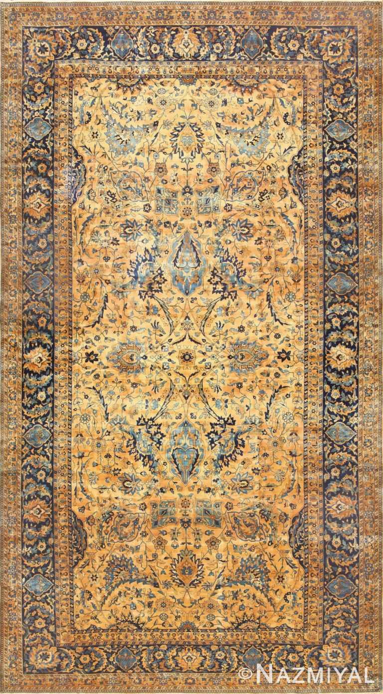 Oversized Antique Persian Kerman Rug 50618 Nazmiyal