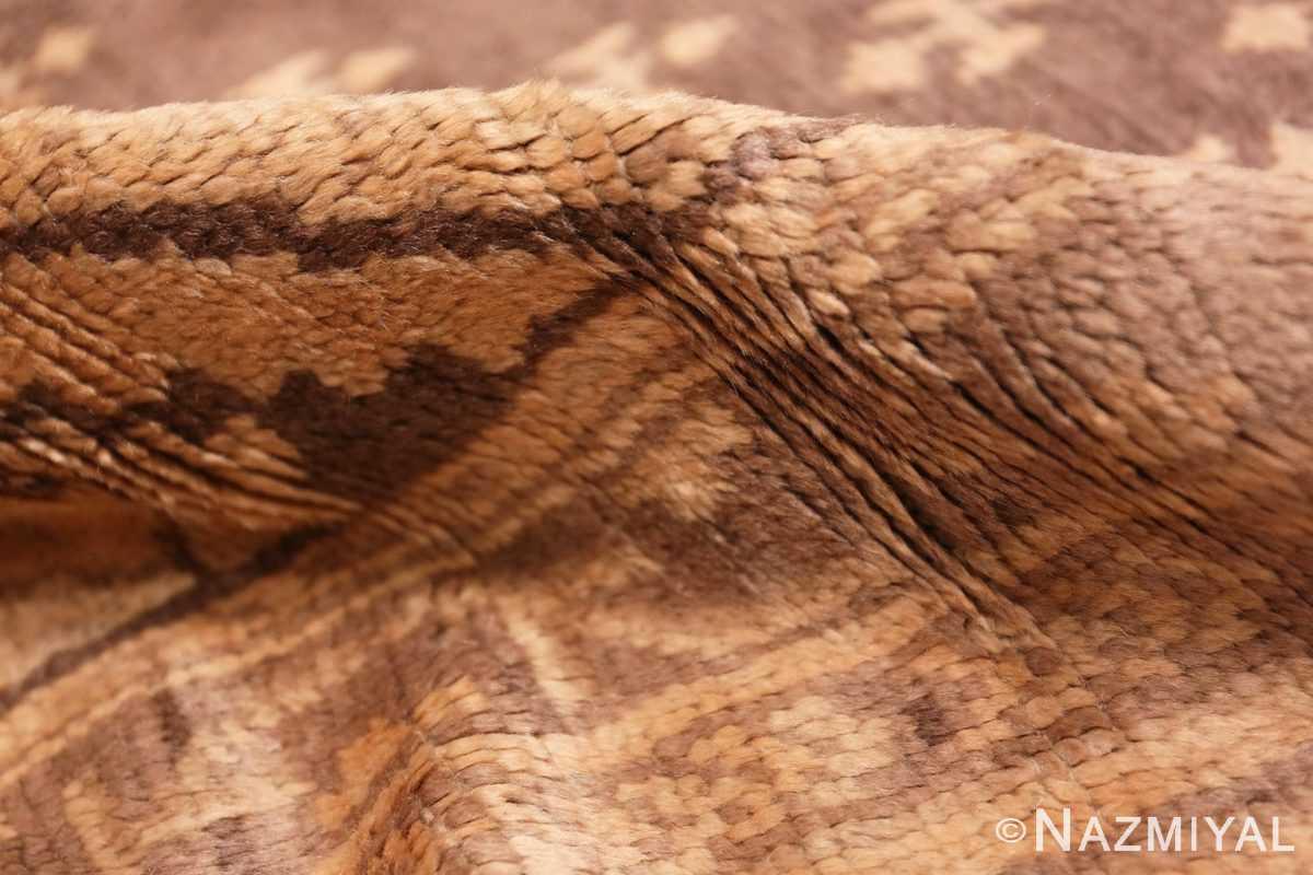 Pile decorative large Antique Turkish Oushak rug 50566 by Nazmiyal