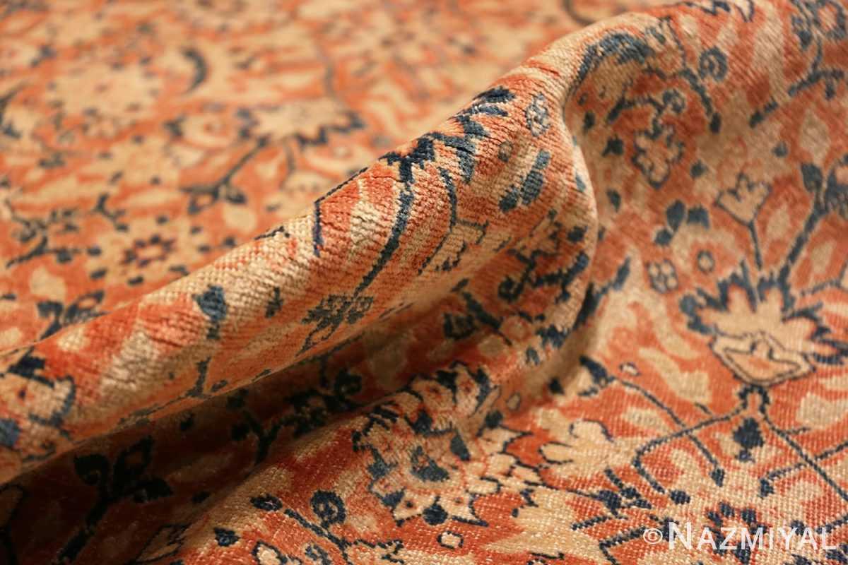 Pile Full Large Mahi Fish Design Antique Persian Tabriz rug 50616 by Nazmiyal