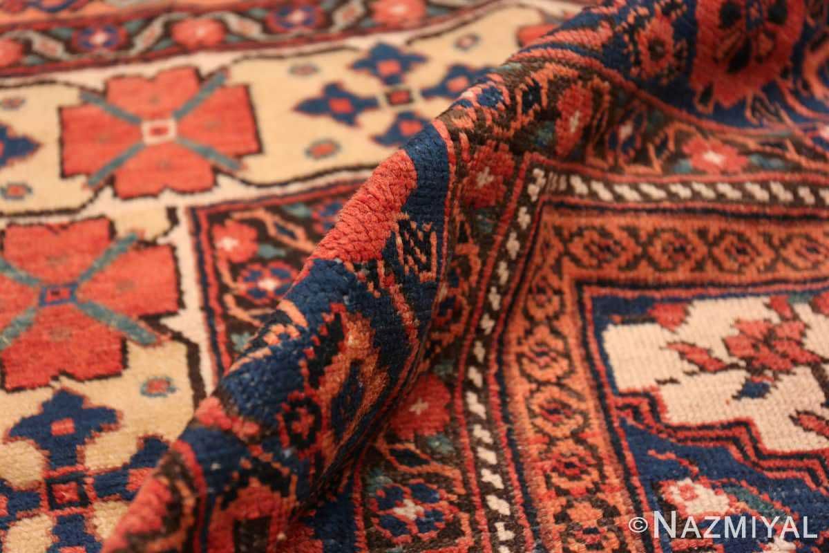 Pile Oversize Tribal Persian Qashqai Antique rug 50619 by Nazmiyal