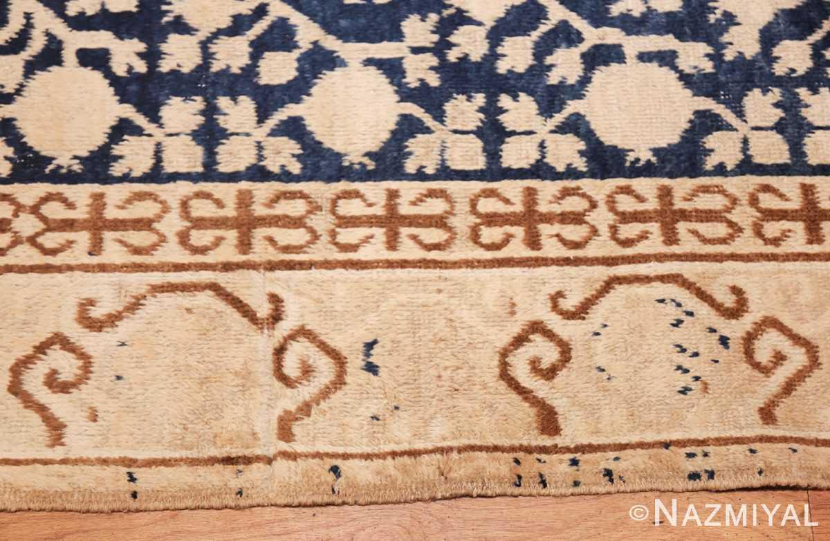 small pomegranate design antique khotan rug 48771 border Nazmiyal