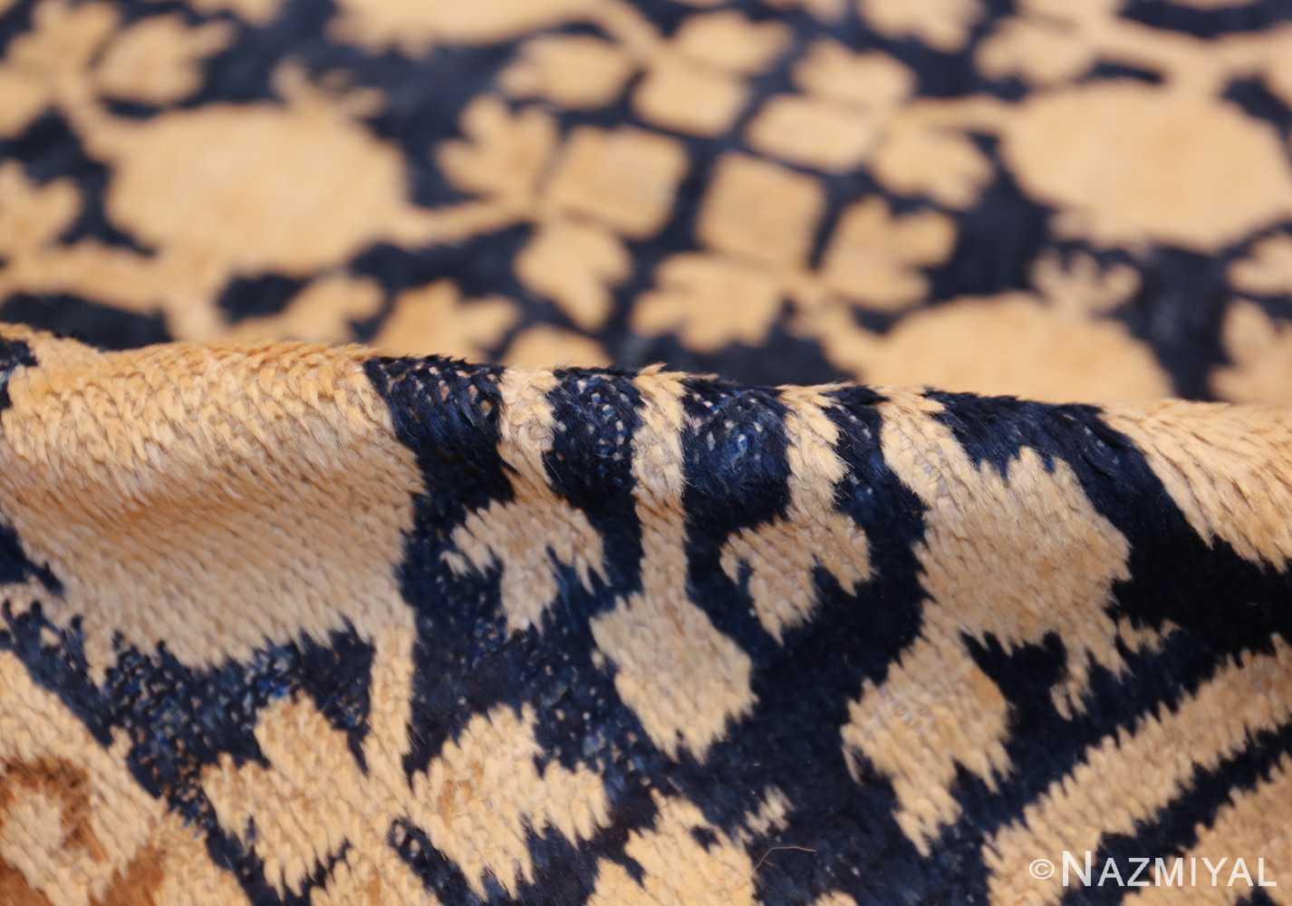 small pomegranate design antique khotan rug 48771 pile Nazmiyal