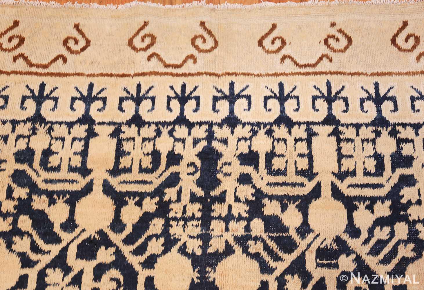 small pomegranate design antique khotan rug 48771 top Nazmiyal