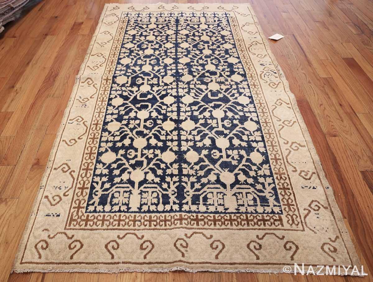 small pomegranate design antique khotan rug 48771 whole Nazmiyal