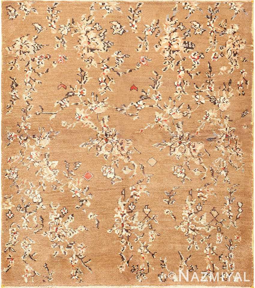 Square Size Vintage Decorative Turkish Rug 50631 Nazmiyal