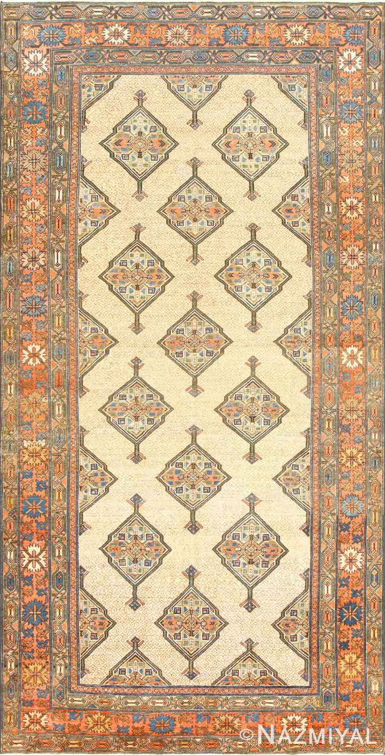 Tribal Gallery Size Persian Antique Serab Rug 50539 Nazmiyal