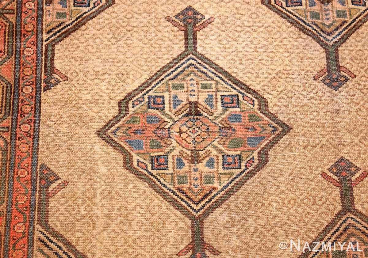 tribal gallery size persian antique serab rug detailed Nazmiyal