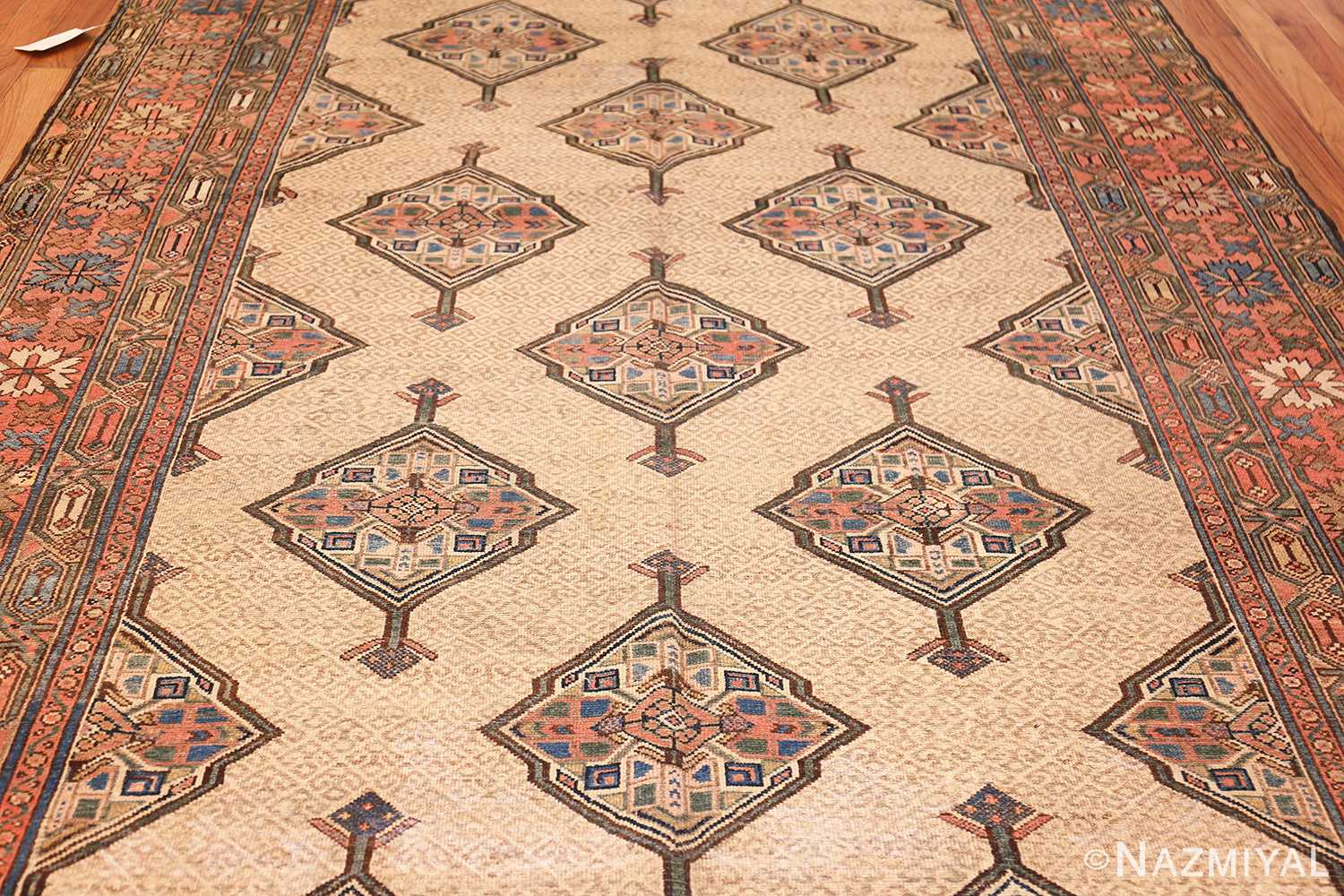 tribal gallery size persian antique serab rug field Nazmiyal
