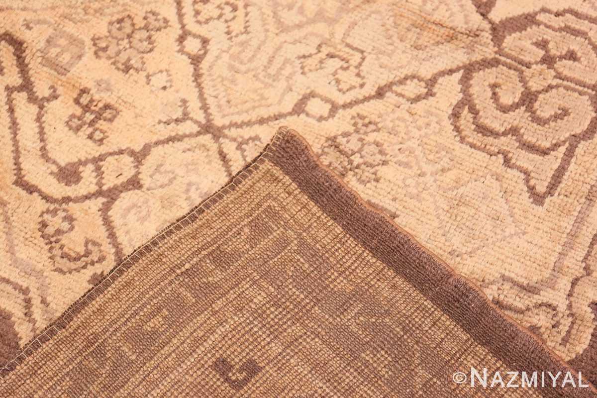 Weave decorative large Antique Turkish Oushak rug 50566 by Nazmiyal