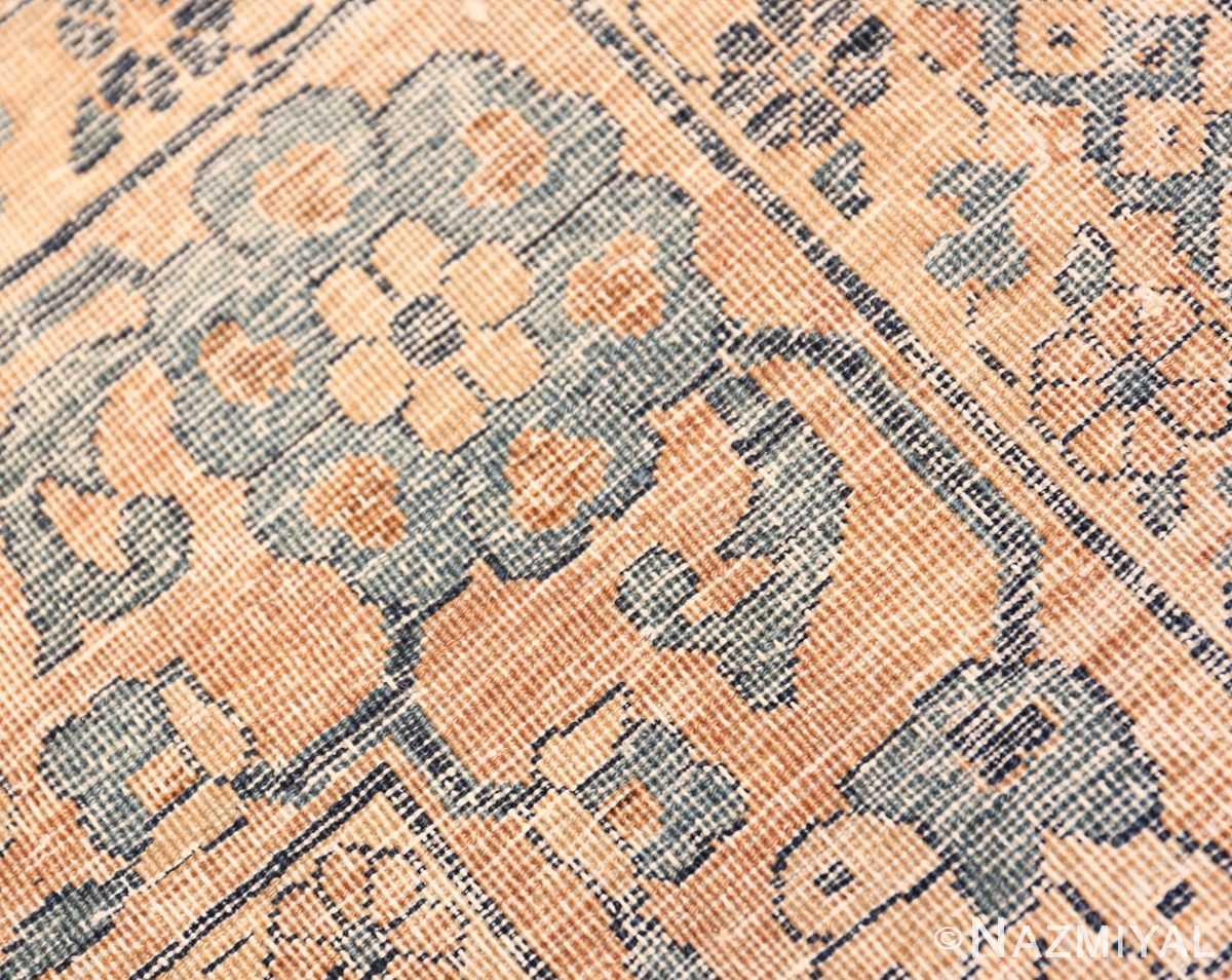 Weave detail Oversized Antique Persian Kerman rug 50618 by Nazmiyal