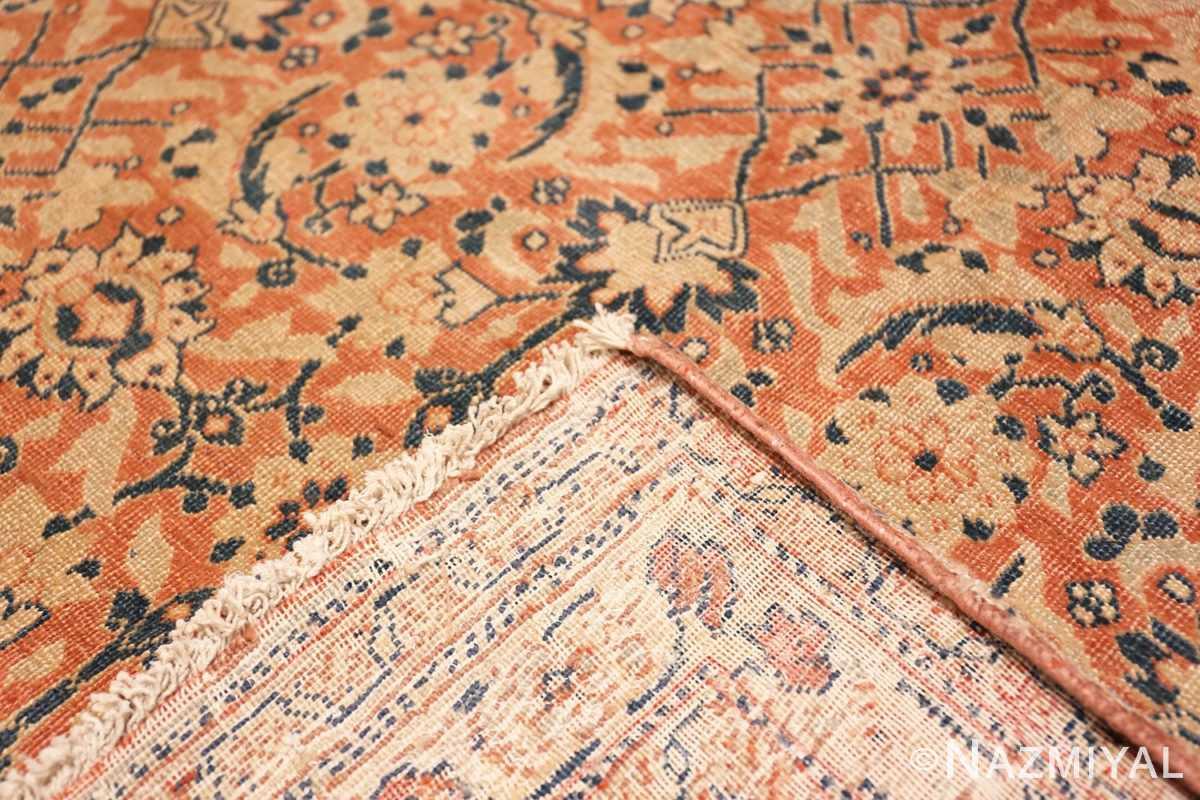 Weave Full Large Mahi Fish Design Antique Persian Tabriz rug 50616 by Nazmiyal