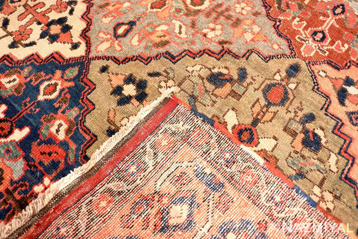 Weave Oversize Tribal Persian Qashqai Antique rug 50619 by Nazmiyal