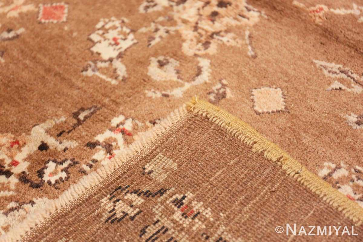 Weave Square size Vintage decorative Turkish rug 50631 by Nazmiyal