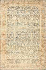 Large Decorative Antique Persian Malayer Rug 50339 Nazmiyal