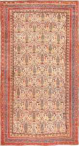 Large Oversized Antique Persian Tribal Qashqai Rug 50651 Nazmiyal