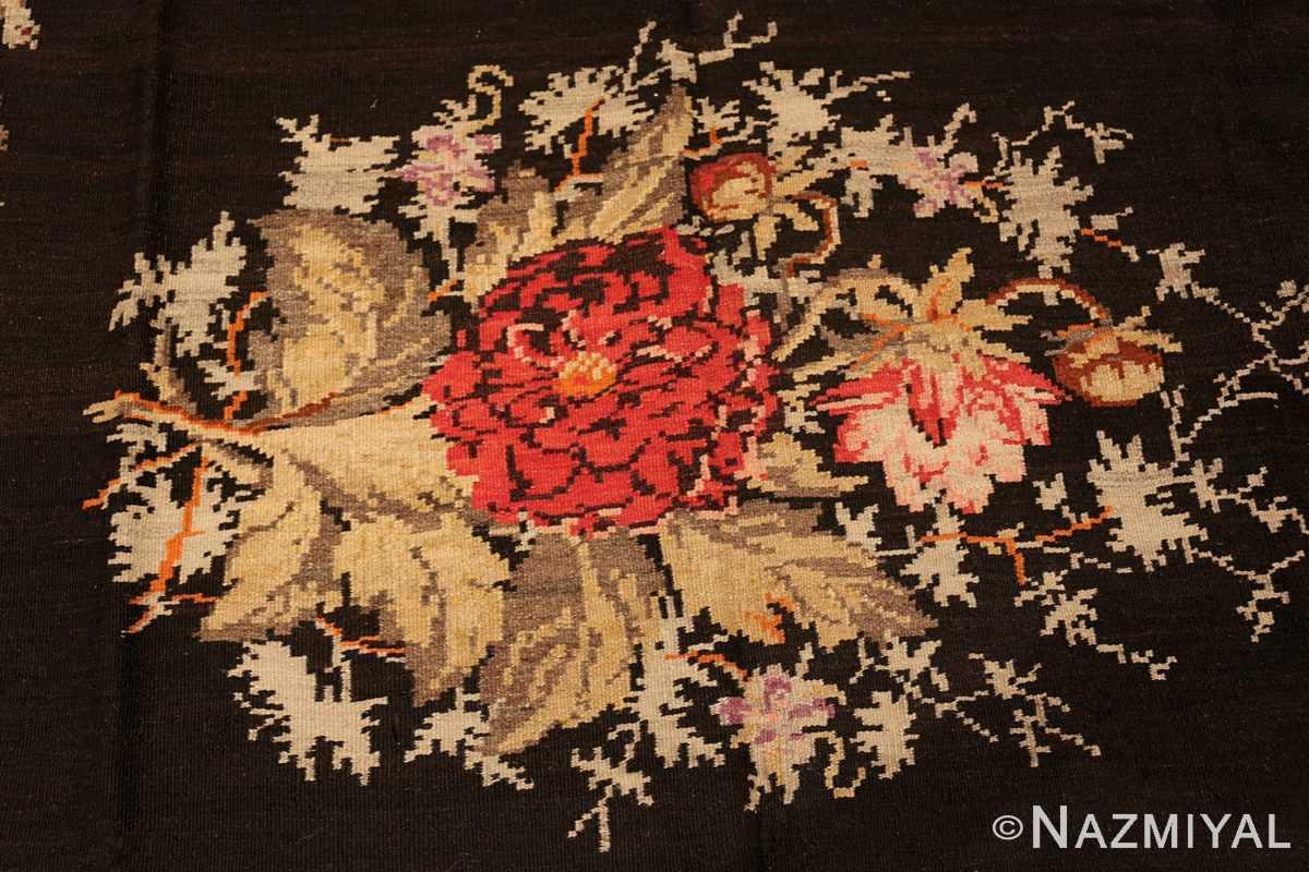 antique flat woven romanian bessarabian kilim rug 48819 bunch Nazmiyal