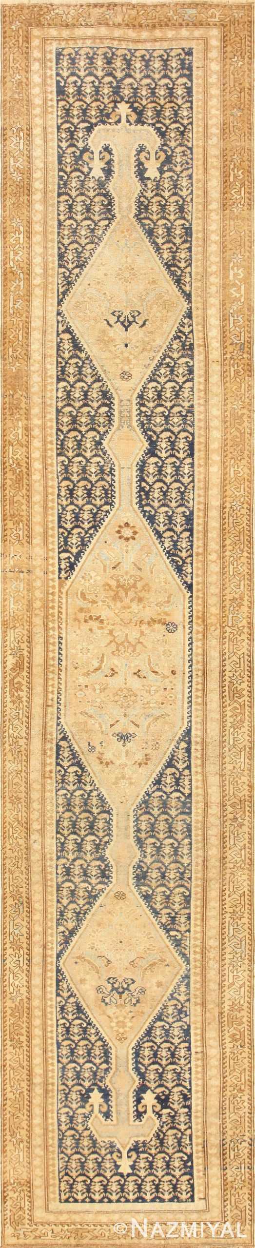 Antique Tribal Persian Malayer Runner Rug 50410 Nazmiyal