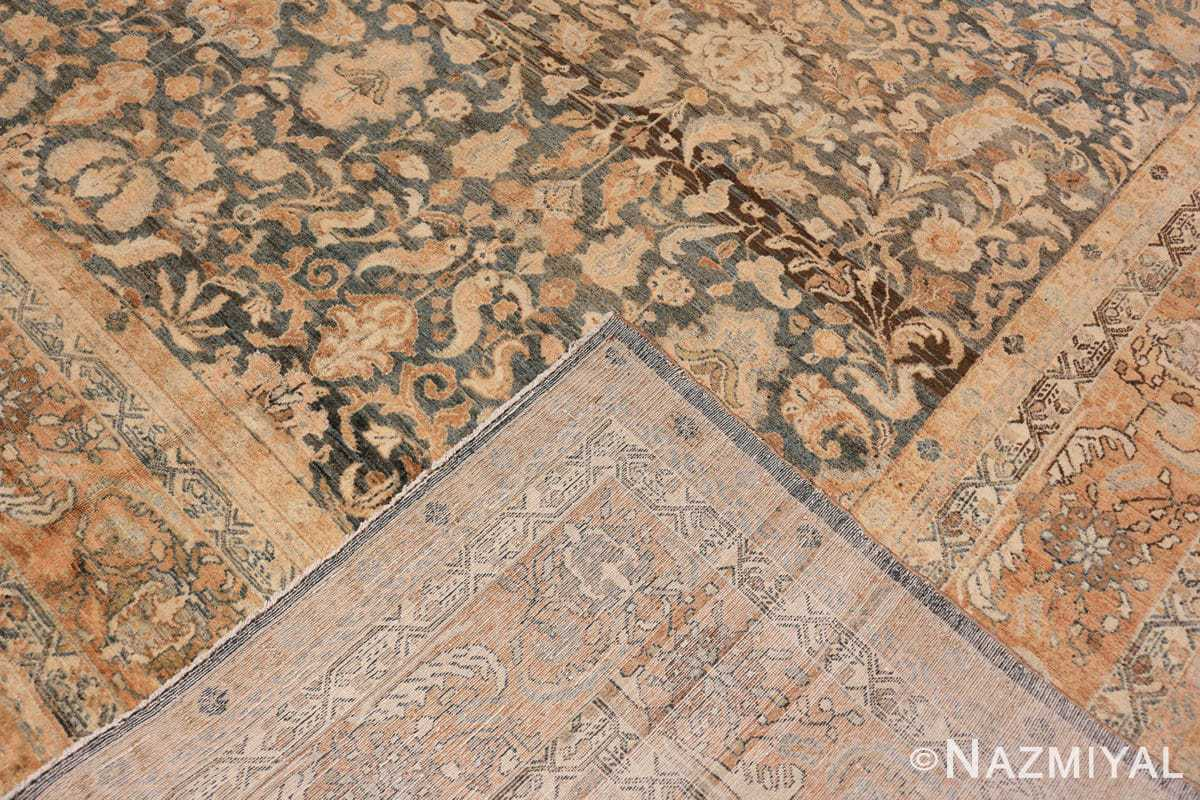 Back Large decorative Antique Persian Malayan rug 50339 by Nazmiyal