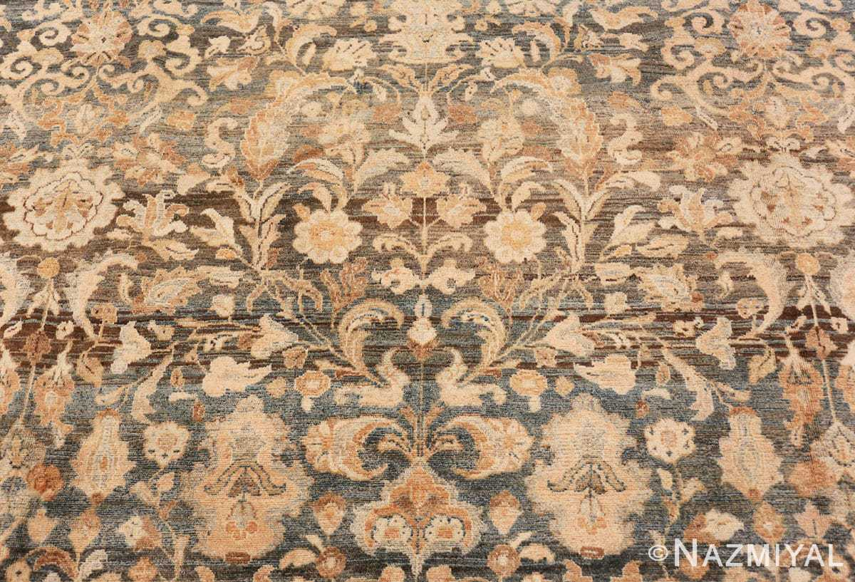 center detail Large decorative Antique Persian Malayan rug 50339 by Nazmiyal