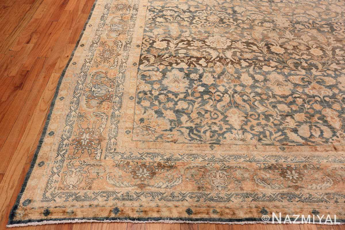 Corner Large decorative Antique Persian Malayan rug 50339 by Nazmiyal