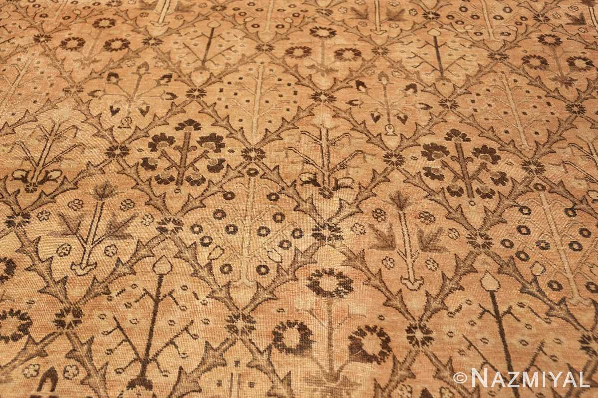 decorative antique garden design persian tabriz rug 50573 birdeye Nazmiyal