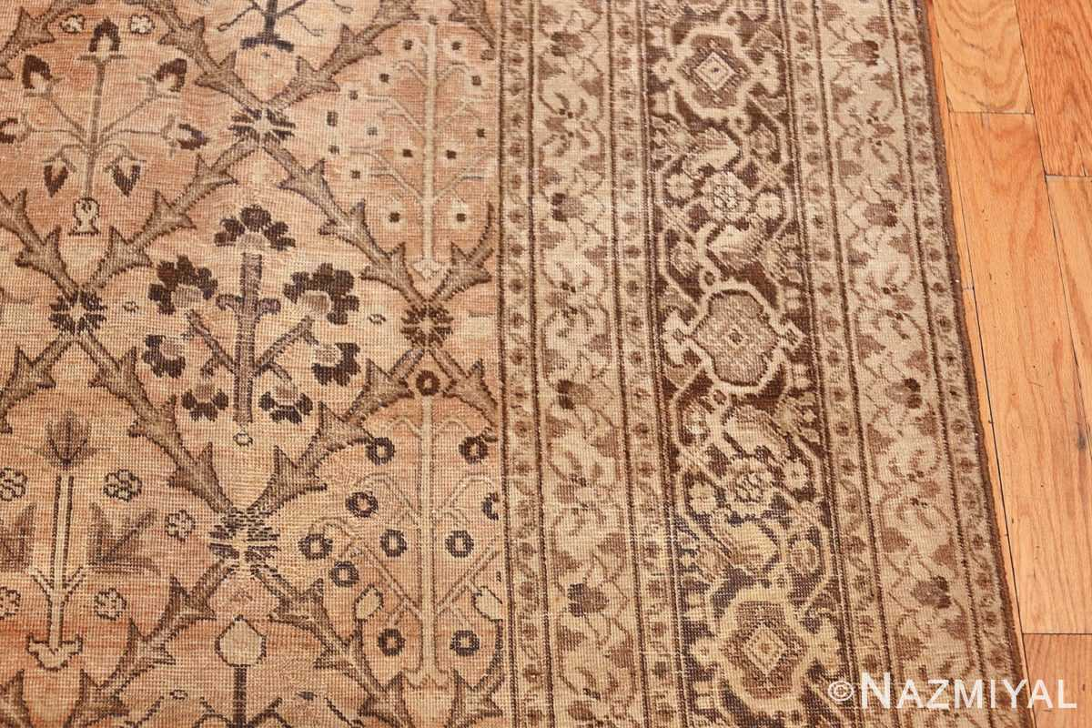 decorative antique garden design persian tabriz rug 50573 border Nazmiyal