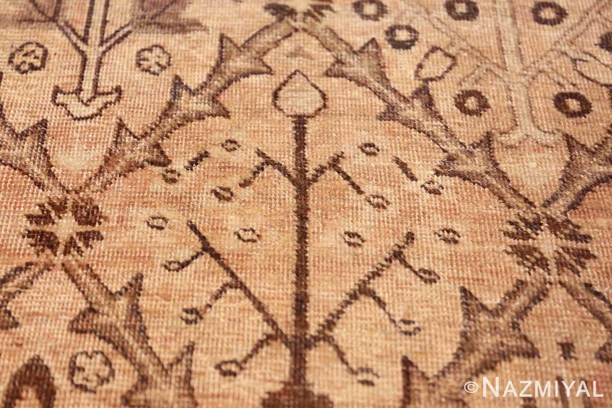 decorative antique garden design persian tabriz rug 50573 candel Nazmiyal