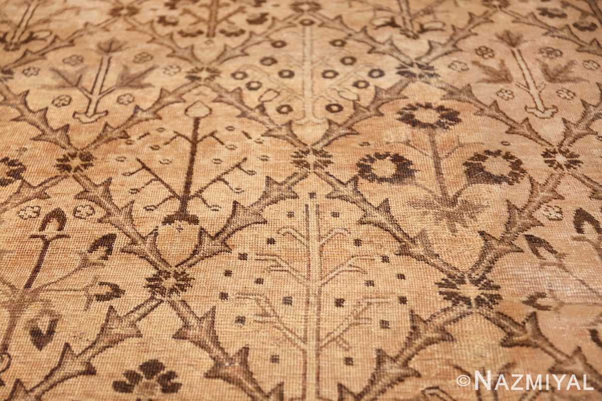 decorative antique garden design persian tabriz rug 50573 diamond Nazmiyal