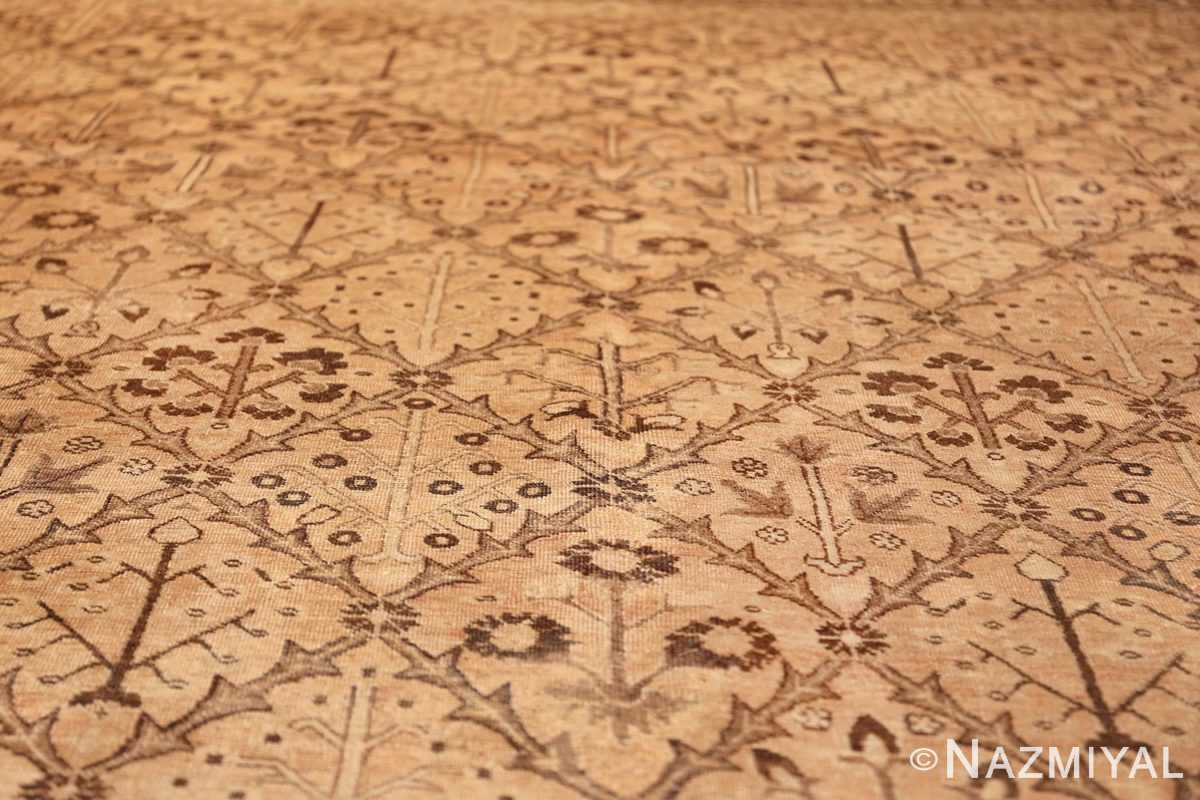 decorative antique garden design persian tabriz rug 50573 lines Nazmiyal