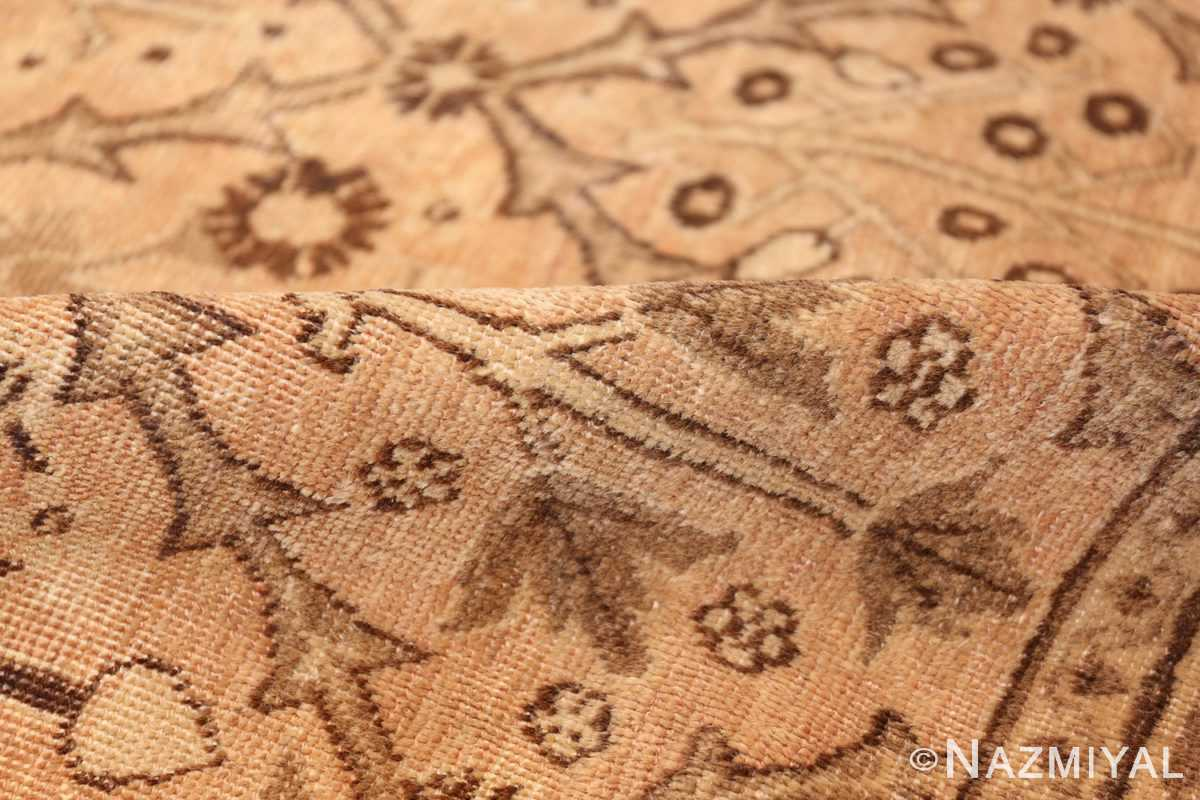 decorative antique garden design persian tabriz rug 50573 pile Nazmiyal