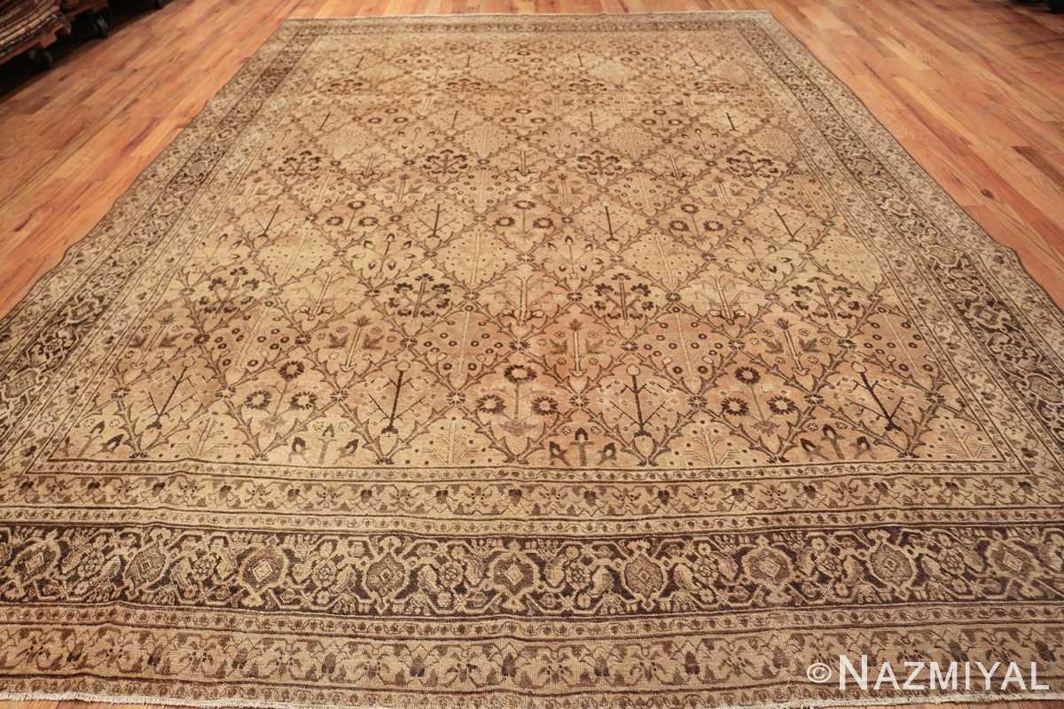 decorative antique garden design persian tabriz rug 50573 whole Nazmiyal
