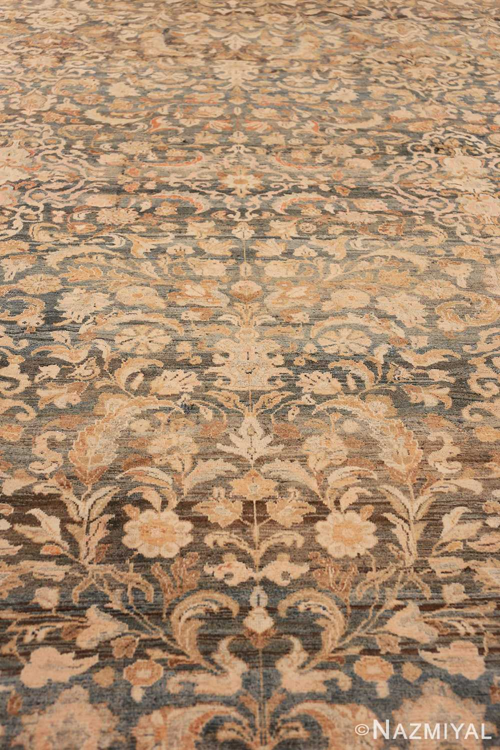 Field Large decorative Antique Persian Malayan rug 50339 by Nazmiyal
