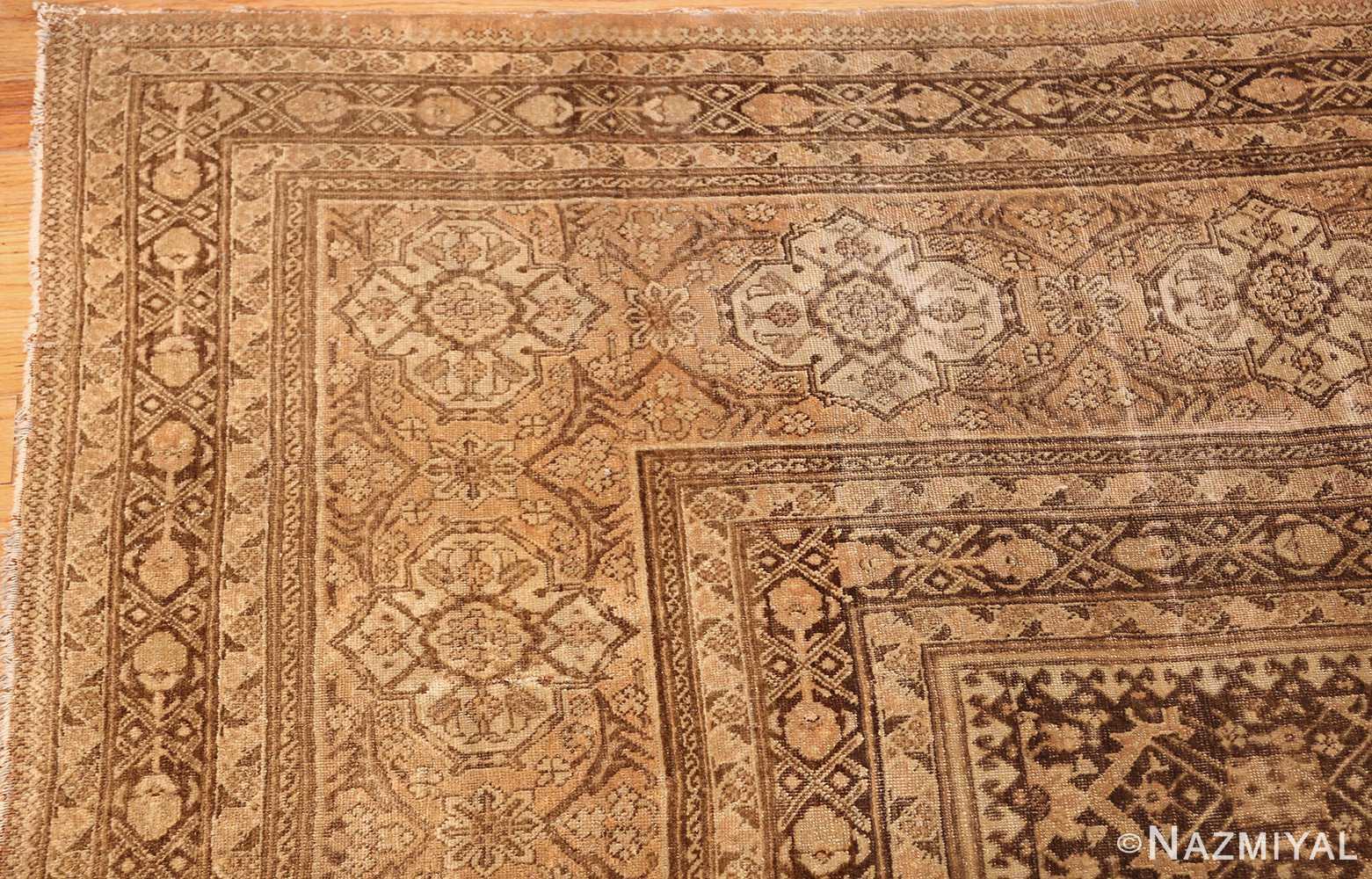 fine and decorative antique persian tabriz rug 50625 corner Nazmiyal