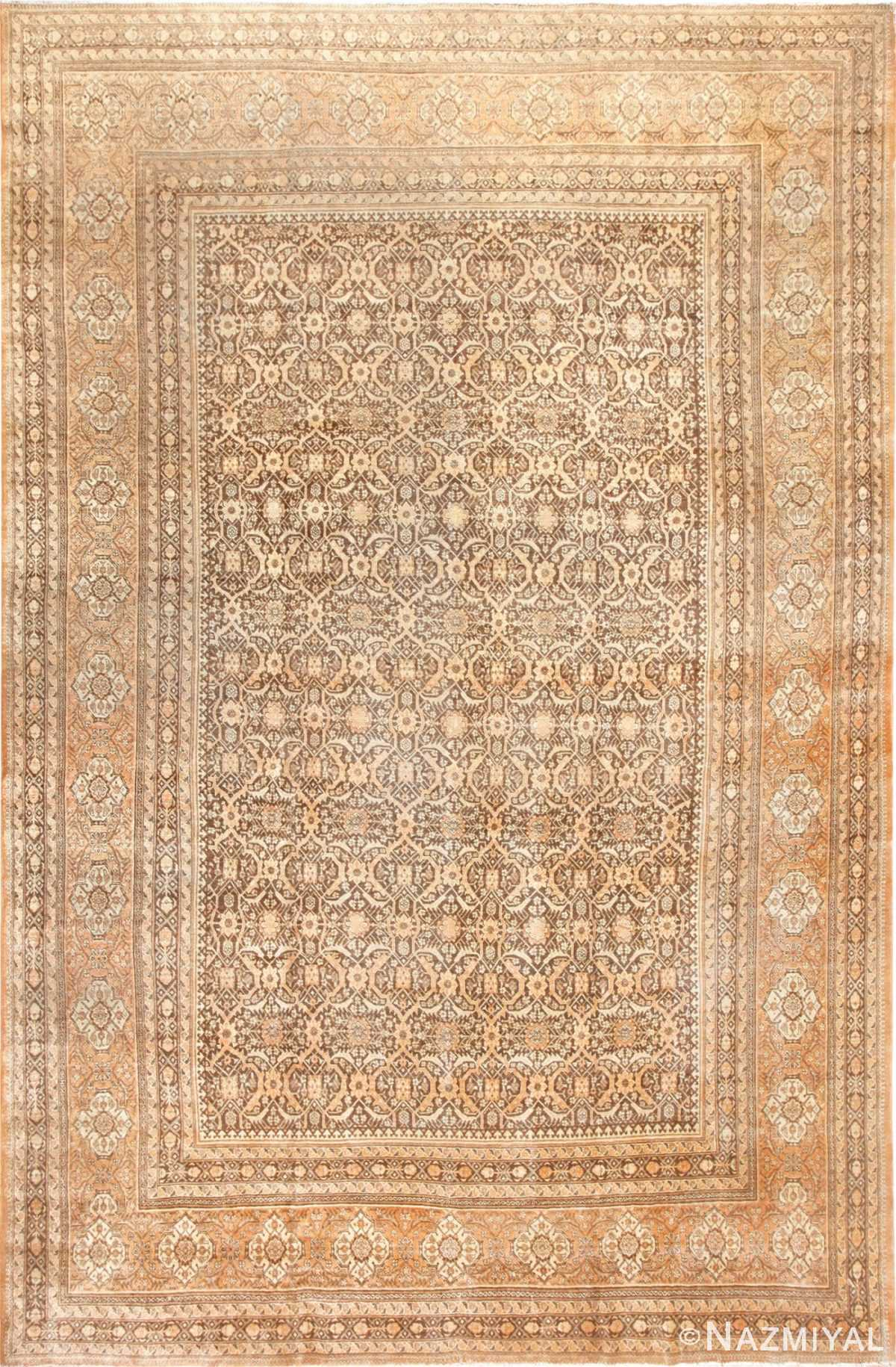 Fine and Decorative Antique Persian Tabriz Rug 50625 Nazmiyal