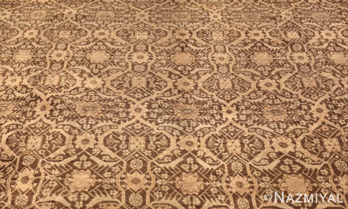 fine and decorative antique persian tabriz rug 50625 field Nazmiyal
