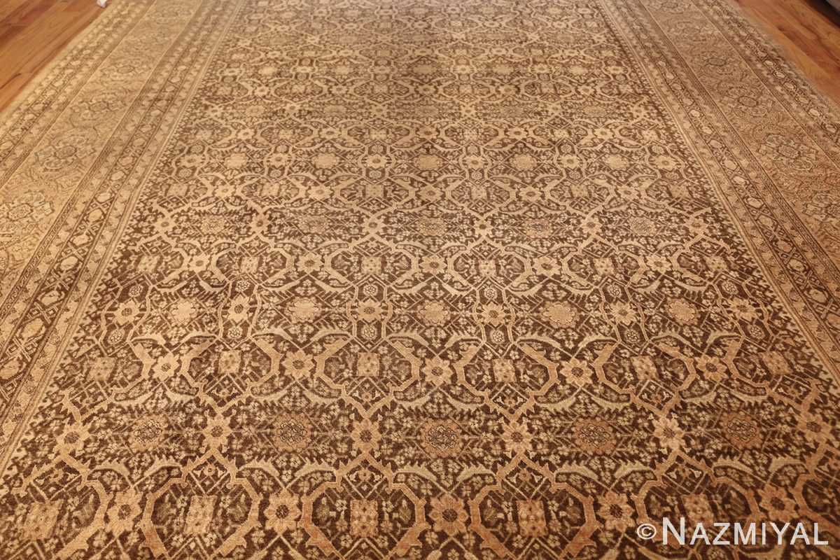 fine and decorative antique persian tabriz rug field 50625 nazmiyal antique rugs