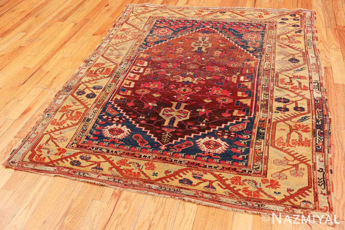 Full beautiful 17th Century Tribal Antique Turkish Kula rug 48813 by Nazmiyal
