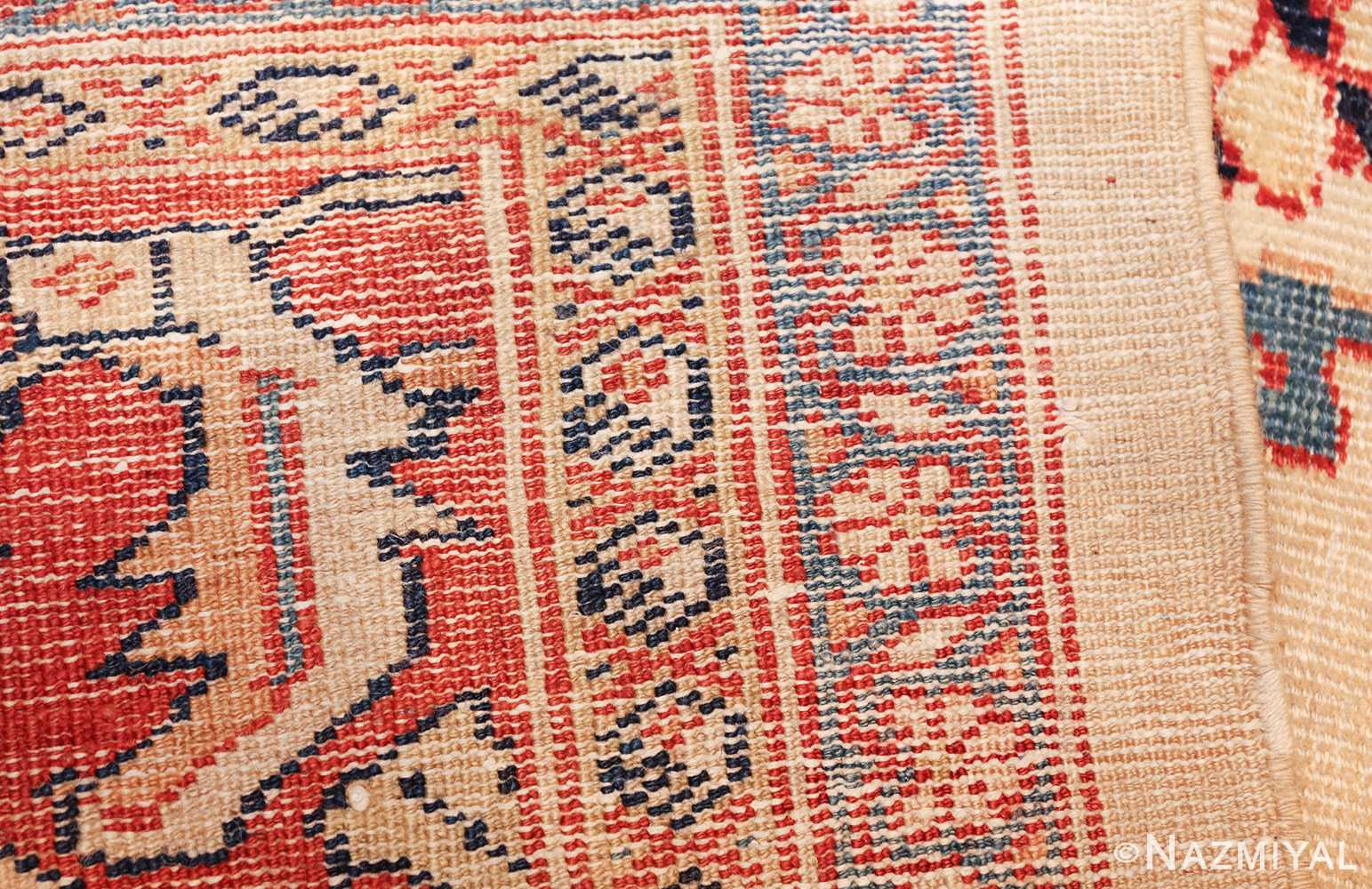 ivory background room size persian antique sultanabad rug 50676 weave Nazmiyal