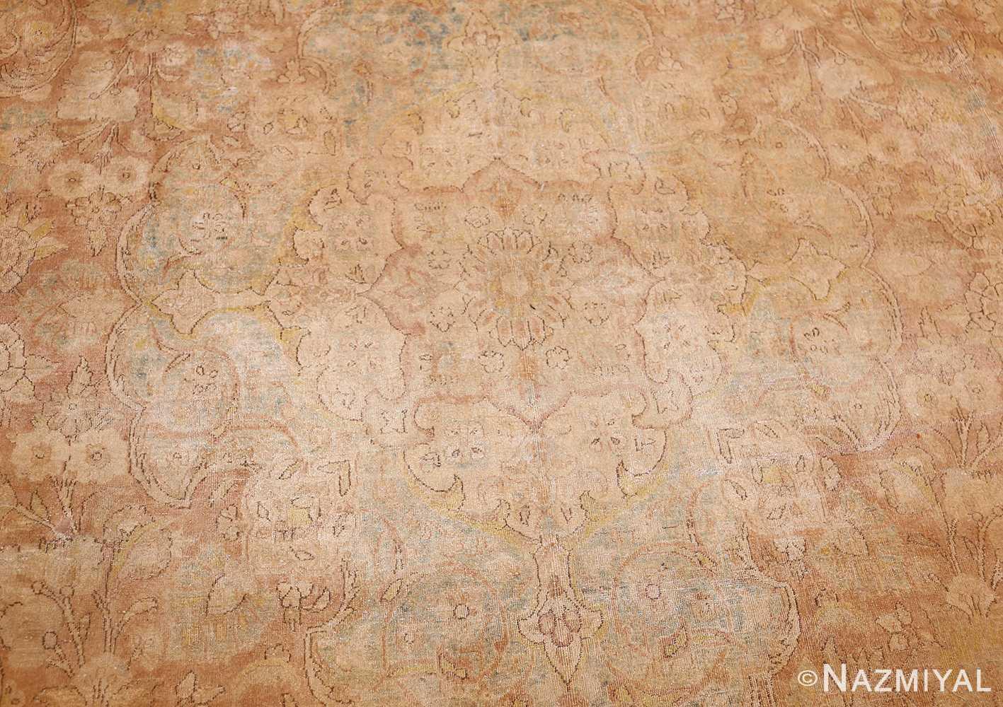 large and decorative antique persian tabriz rug 48740 medallion Nazmiyal