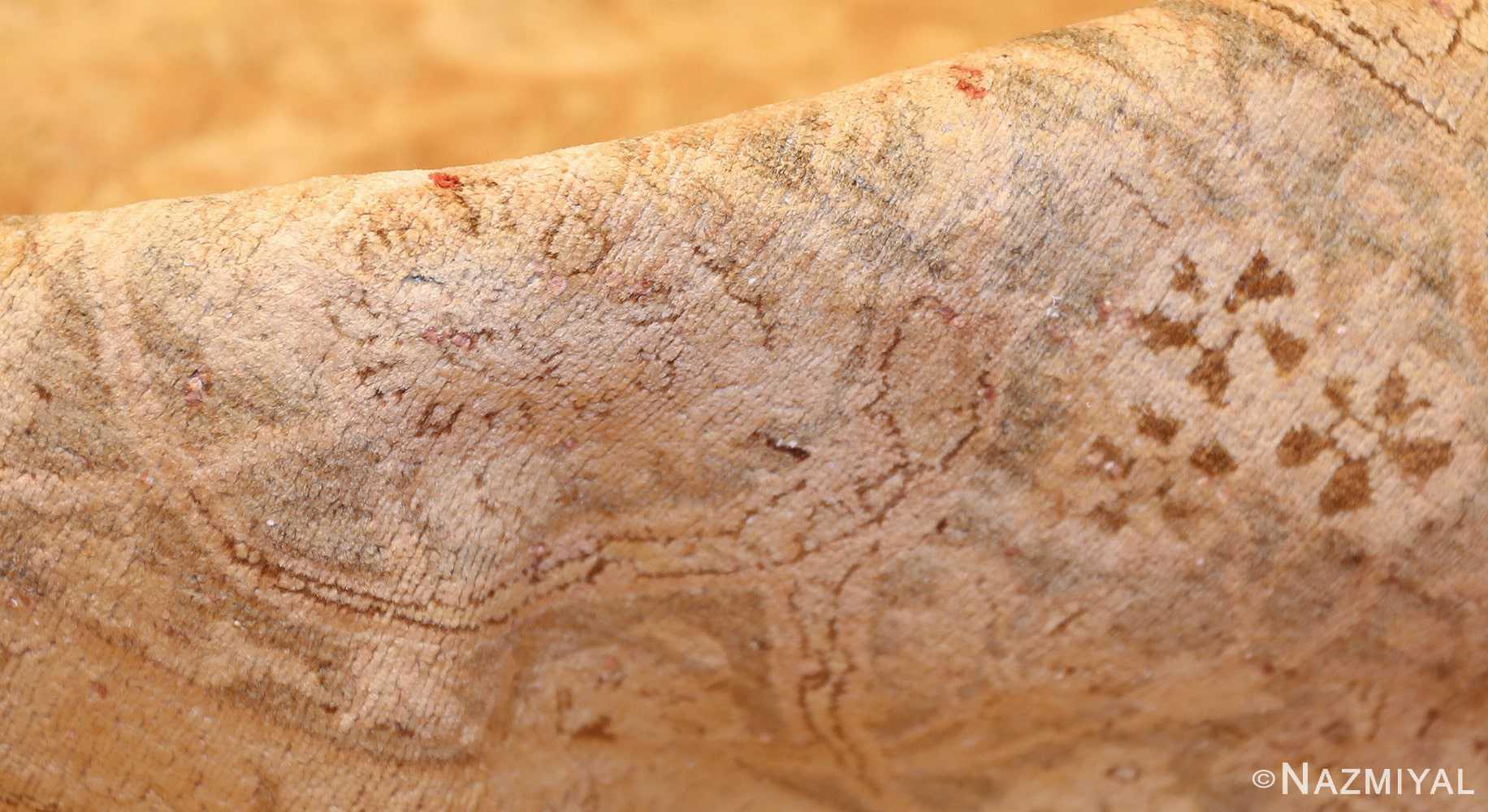 large and decorative antique persian tabriz rug 48740 pile Nazmiyal
