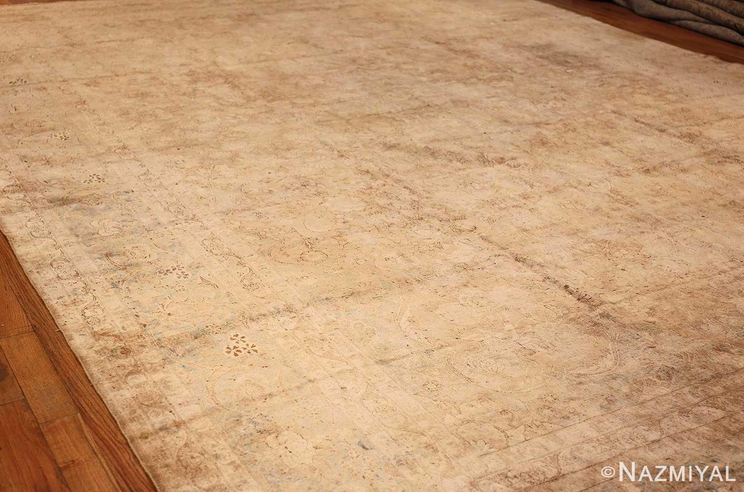 large and decorative antique persian tabriz rug 48740 whole Nazmiyal