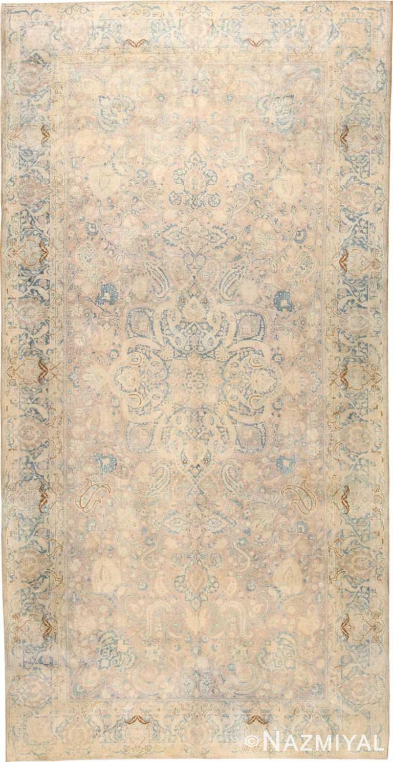 Large Antique Fine Persian Kerman Rug 50137 Nazmiyal