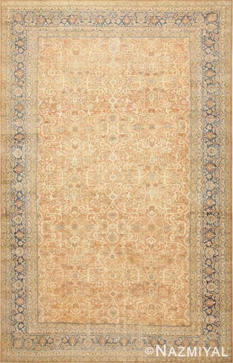 Large Decorative Antique Persian Kerman Rug 47185 Nazmiyal