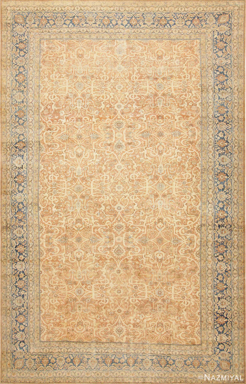 Large Decorative Antique Persian Kerman Rug 47185 Nazmiyal