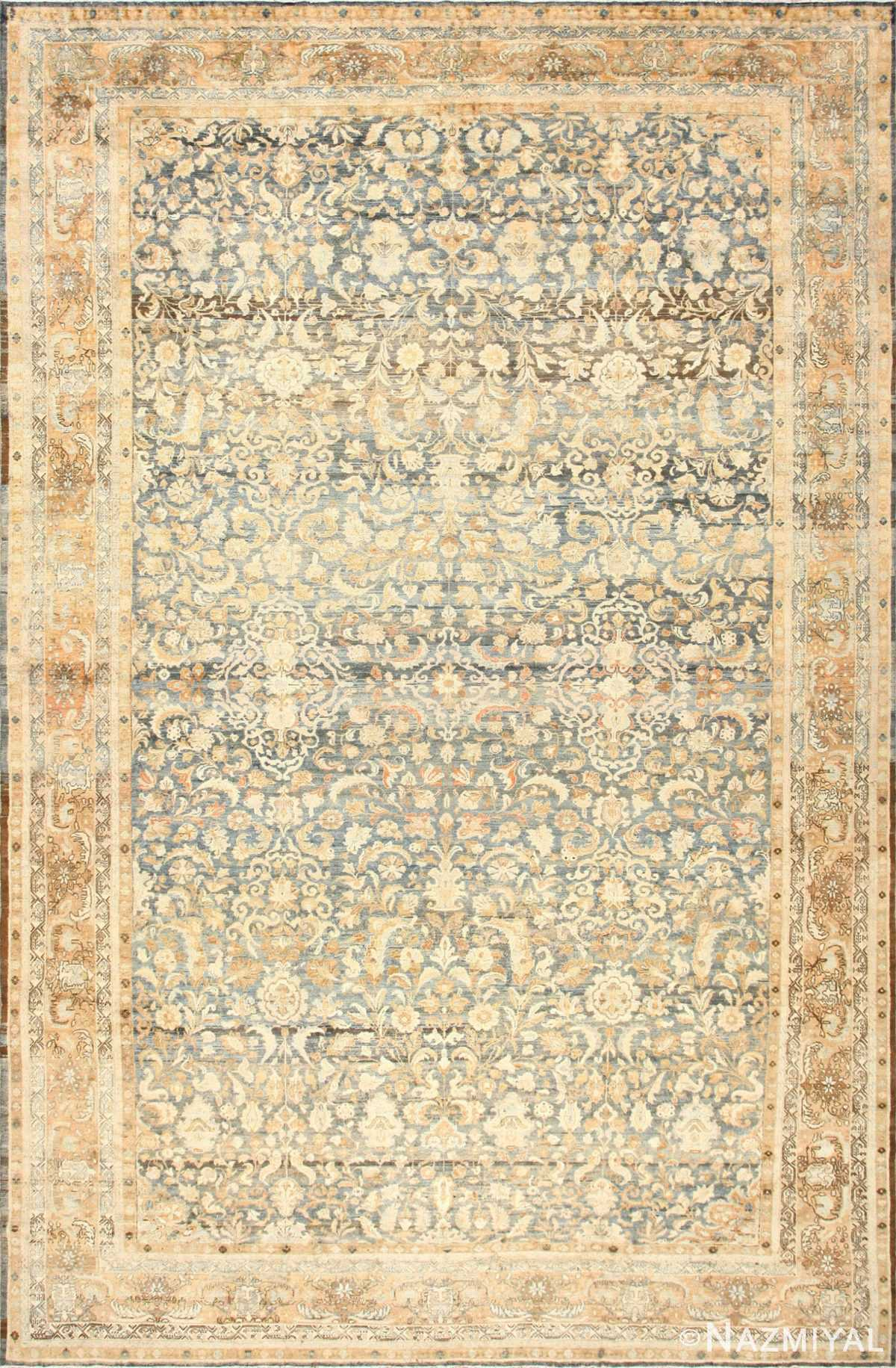 Large Decorative Antique Persian Malayer Rug 50339 Nazmiyal